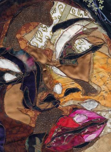 Quilt art by Bias Butler, found on sewwequilt.com