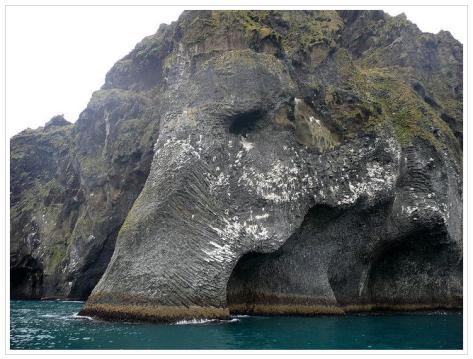 Elephant Rock, Heimaey, Iceland by Eric Carlson © 2014